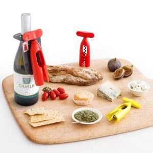 Brabantia Corkscrew Kitchen Tool - Grey
