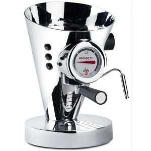 Casa Bugatti Espressomachine DIVA - Chrome Silver