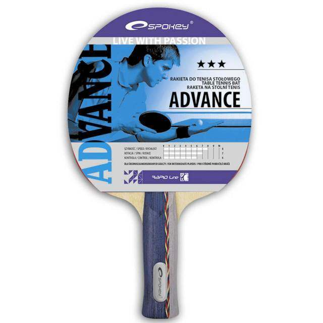 Spokey Table Tennis Racket Advance 3 Stars
