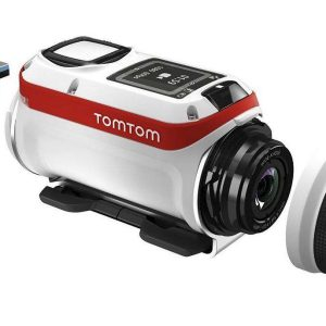 TomTom Bandit GPS Action Camera (Action Pack Bundle)