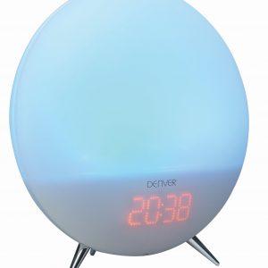 Denver Electronics Clock Radio LED Sound Blue Light