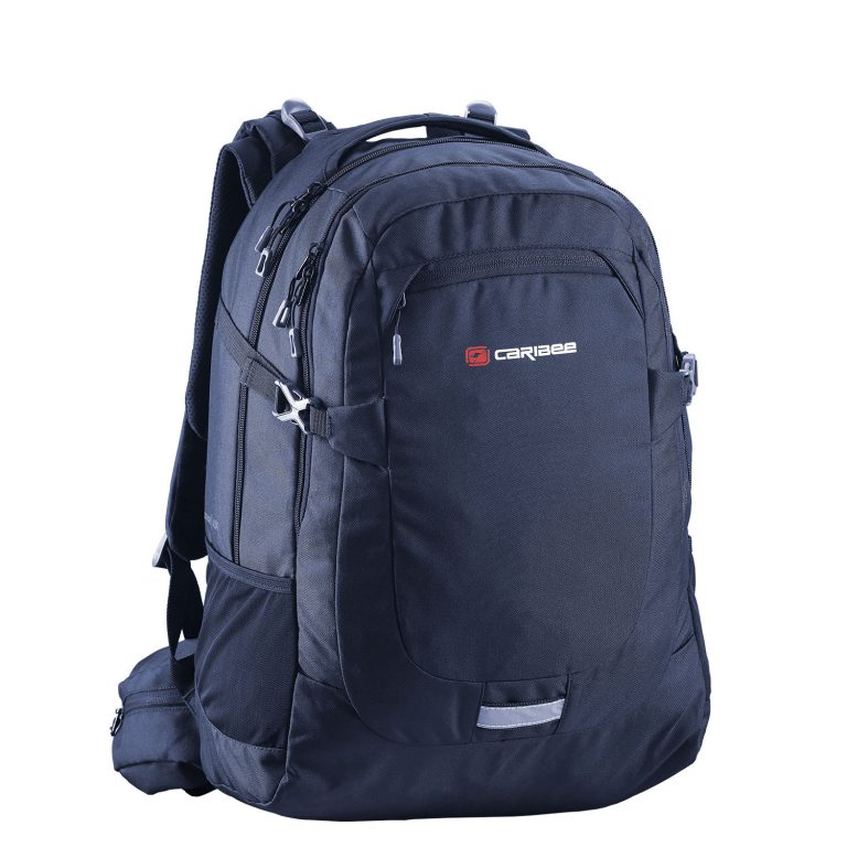 School Backpack Caribee Daypack College 40 Liter Navy