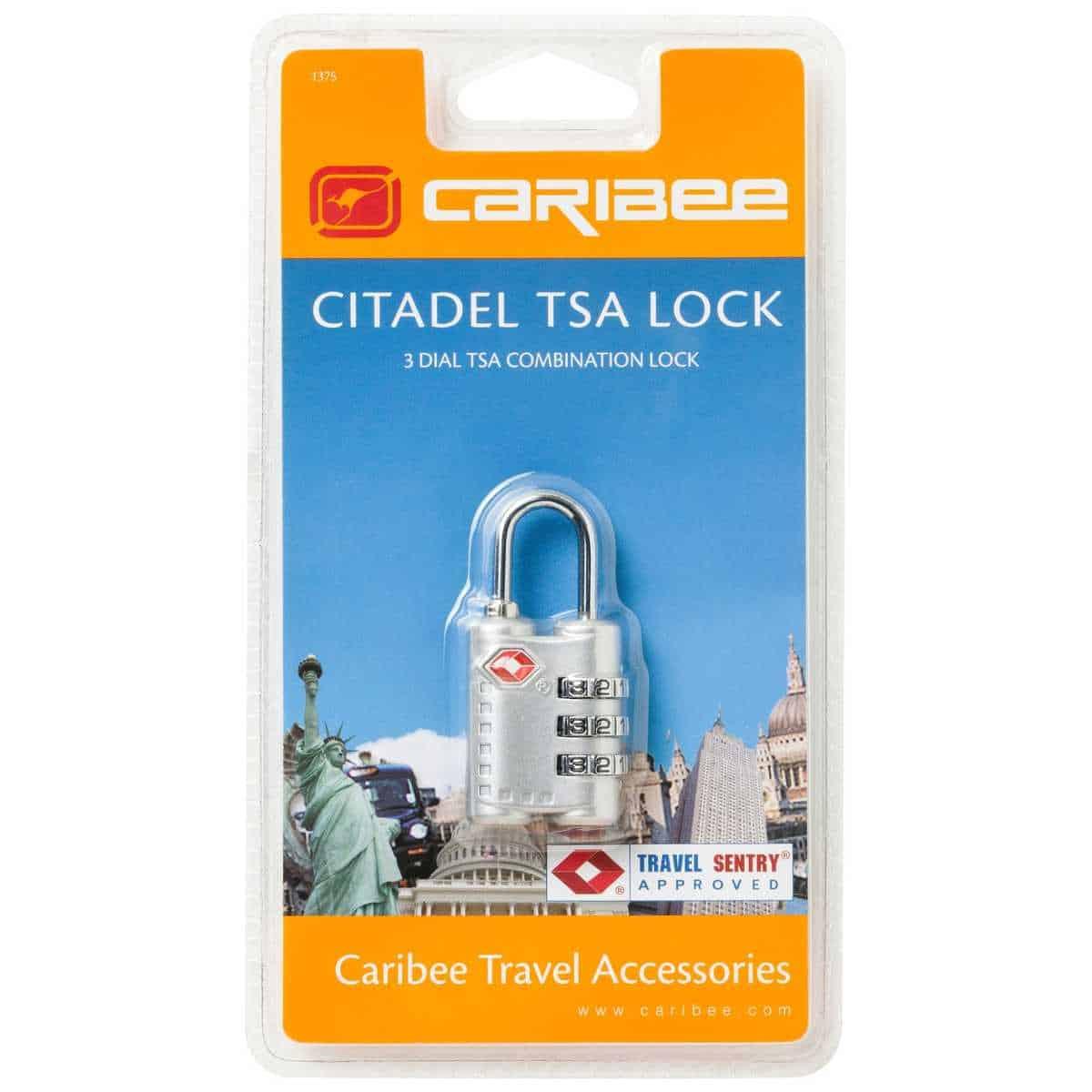 TSA Lock Airport Security Caribee Citadel