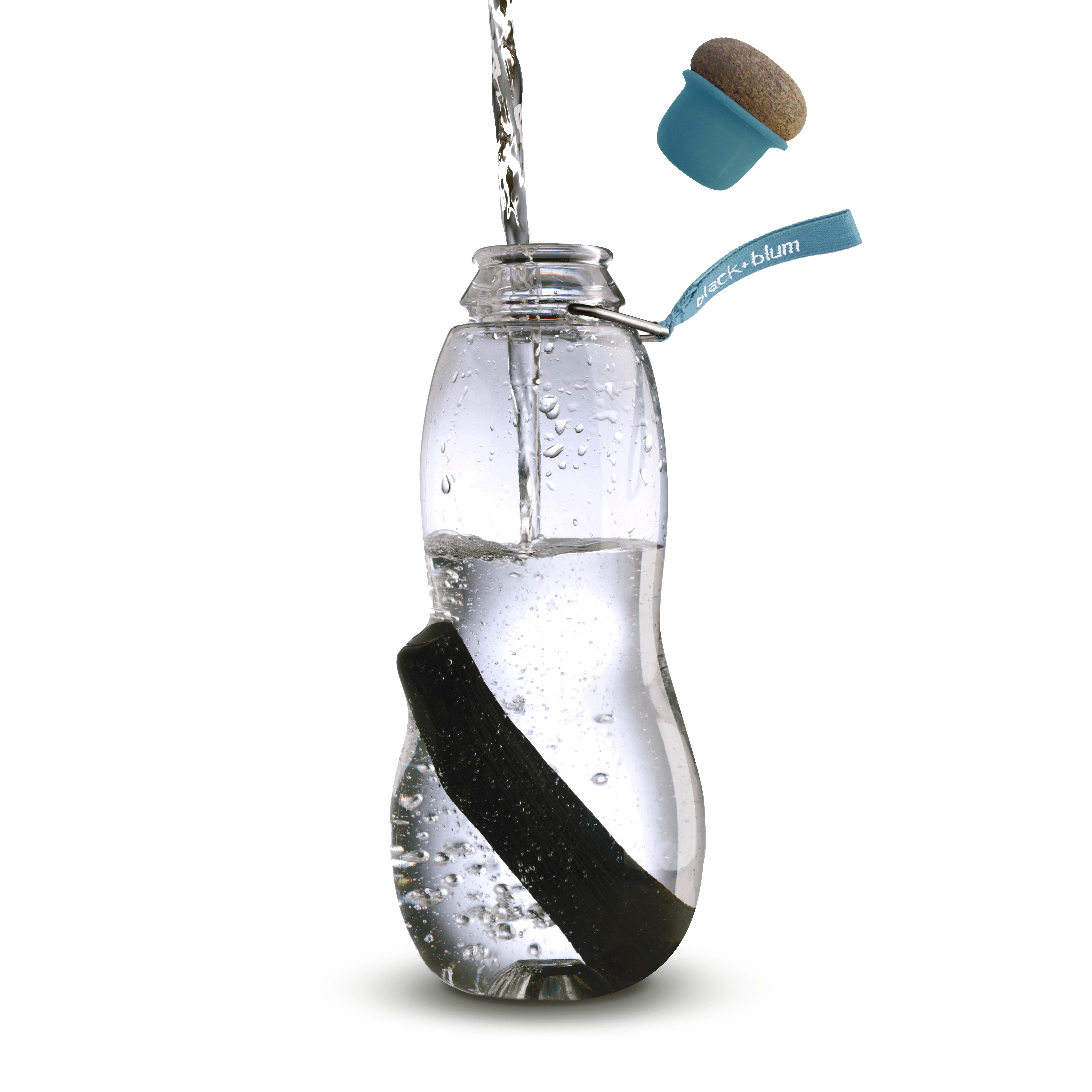 Water Bottle Clean Black + Blum EAU GOOD Charcoal