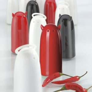 Koziol Design Gift Salt Pepper Shaker SPICIES