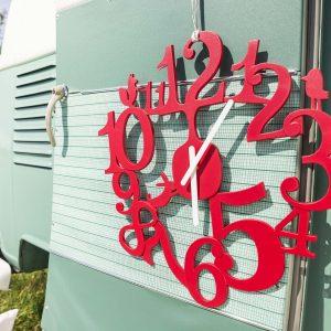 Clock Wall Hang Koziol Design Black
