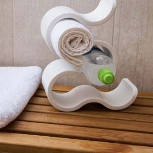 Koziol Home Design Wine Towel Rack Spa
