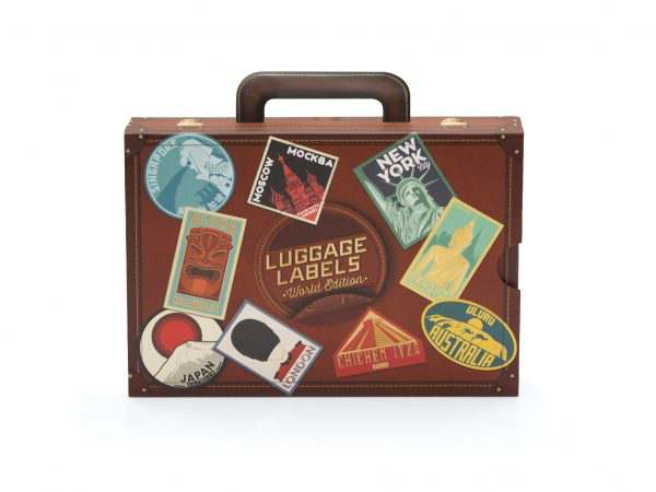 Luggage Label Vintage Luckies of London Gift
