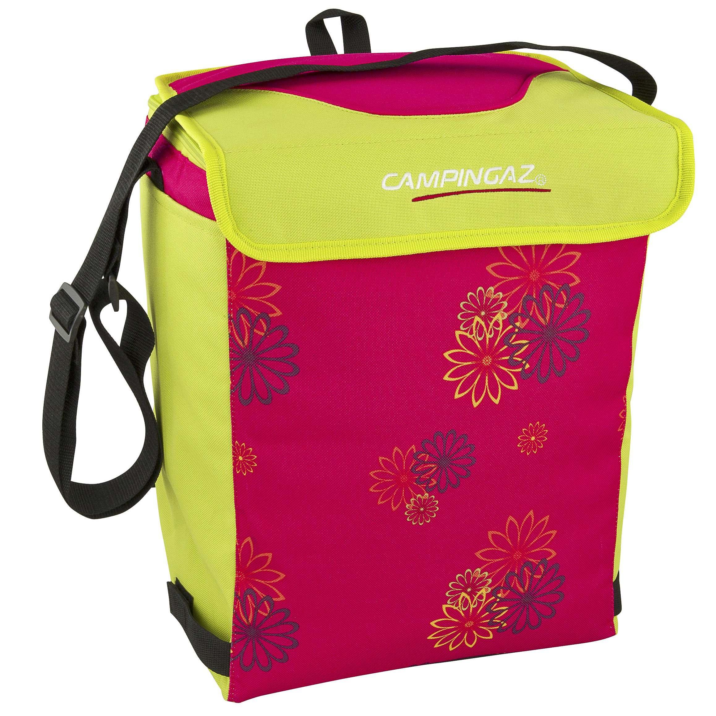 Campingaz Cooler 19 Liter Soft Cooler Bag Pink Daisy Cold