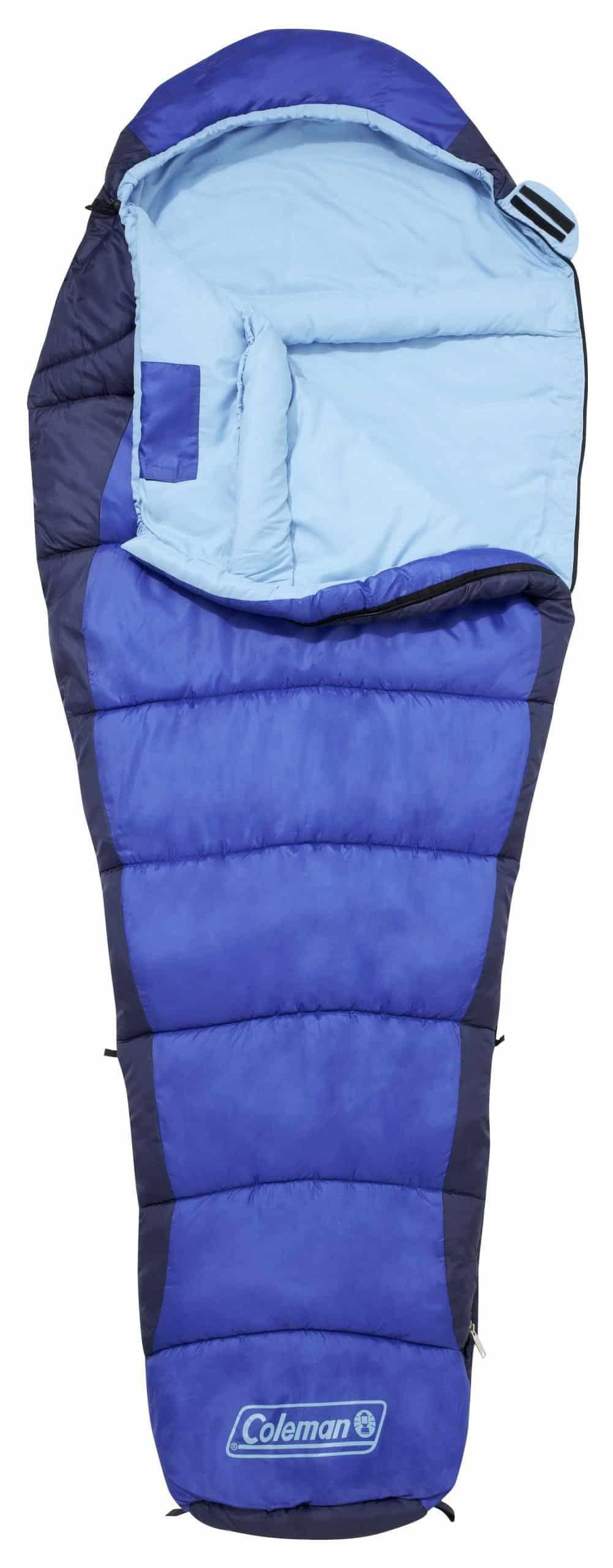 Coleman Sleeping Bag Mummy Fision 100 Warm Cold