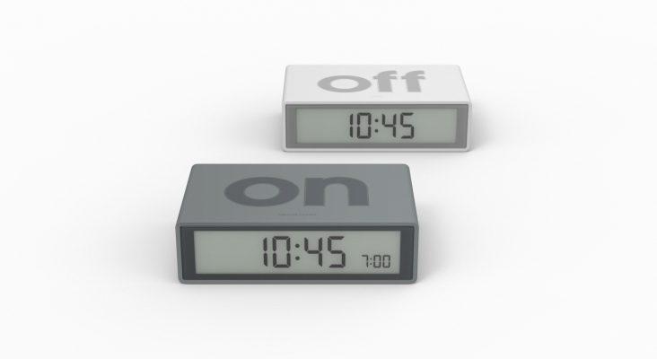 Lexon Design Flip Alarm Clock