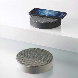 Lexon Design Wireless Charging Bluetooth Speaker