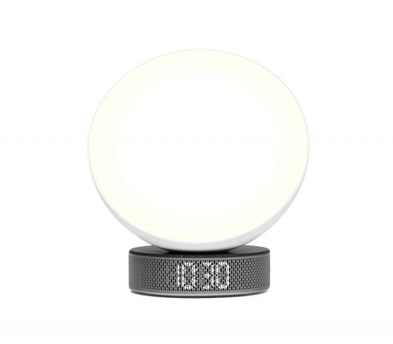 94419BL_5_Lexon_Design_Miami_Sunrise_Wake-up_Light_Alarm_Ambient_Black_Marble
