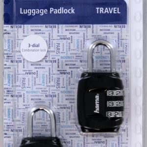 Lock Combination Luggage Travel HAMA Colour