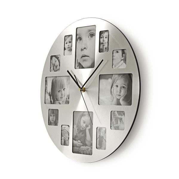 Clock Time Watch Photo Frame Nedis