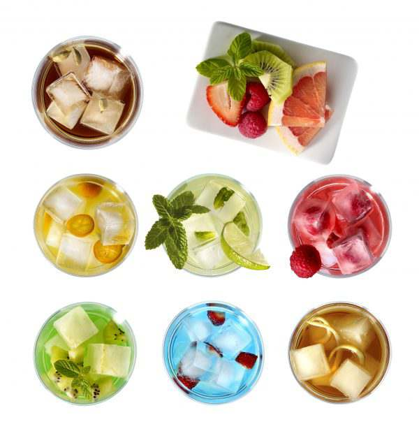 Summer Ice Drinks Cold Handy ICE Tray Lekue
