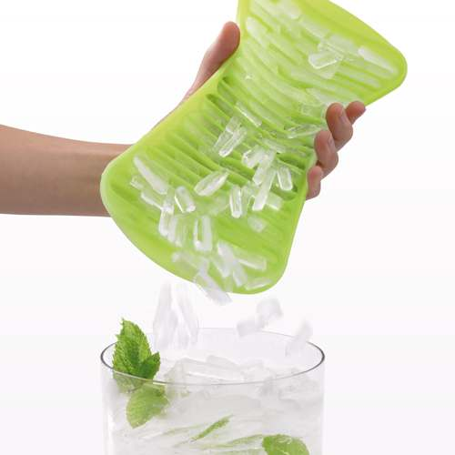 Summer Ice Drinks Cold Handy ICE Crush Lekue Green