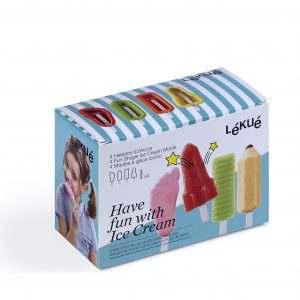 Ice Cream Popsickles Shapes Kit Iconic Lekue