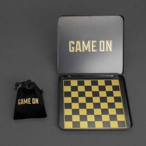 Travel Chess Game Mini Iron Glory Game ON