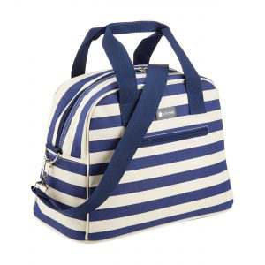Cool Bag Blue Stripes Summer LulWorth Kitchencraft