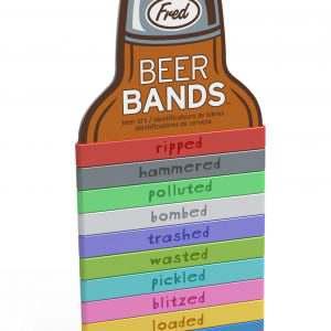 Beer Bottle Drink Markers Bands Fred & Friends