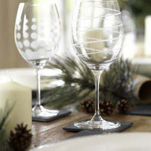 Design Glass Glassware Mikasa Red Wine Cheers