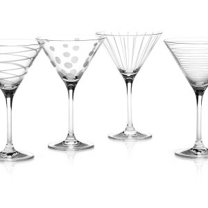 Design Glass Glassware Mikasa Martini Cheers
