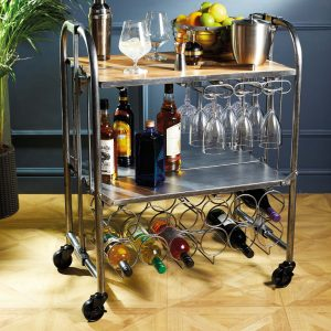 Home Bar Trolley Drinks Design Kitchen BarCraft