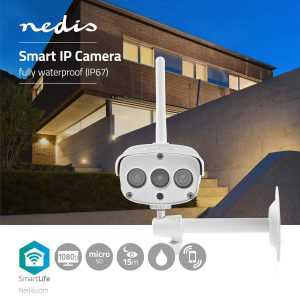 Smart WiFi IP Camera FULL HD Outdoor Nedis