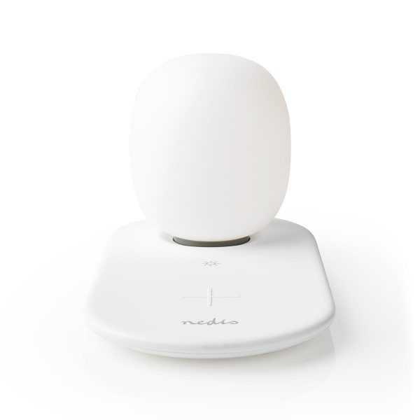 Wireless QI Charger LED Lamp Nedis