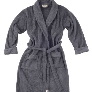 Bath Home Robe Cotton Comfortable Walra Anthracite