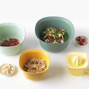 Kitchen Colander Set Mixing Bowl Brabantia Colour Tasty +