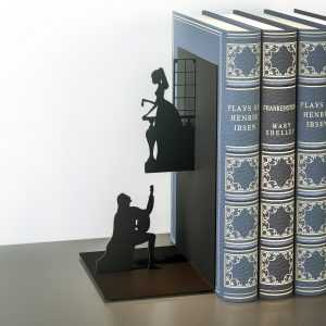 Book Reading Stand Bookshelf Bookend Romantic Balvi