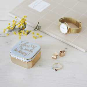 Love Ring Box Storage Valentine Balvi Gadget