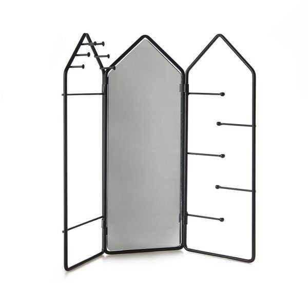 Jewelry Storage Frame Rack Mirror Balvi Gift