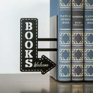 Books Bookshelf Bookend Reading Design Balvi Gift