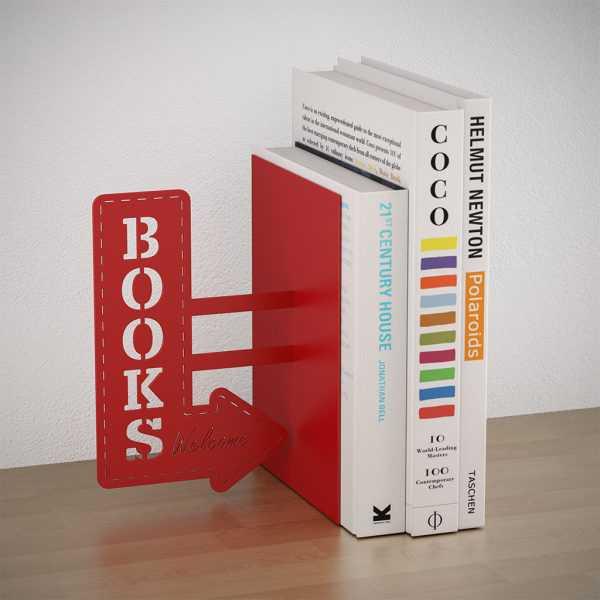 Books Bookshelf Bookend Reading Design Balvi Gift