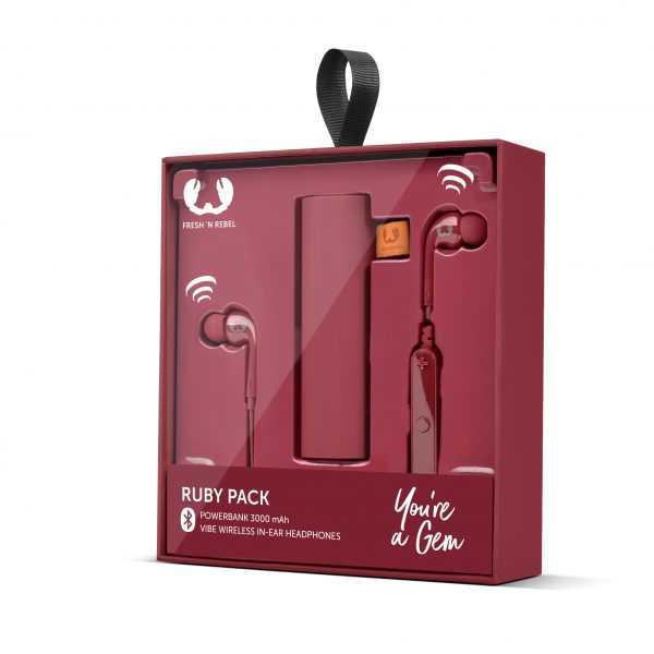 Powerbank Headphone Giftpack Fresh Rebel