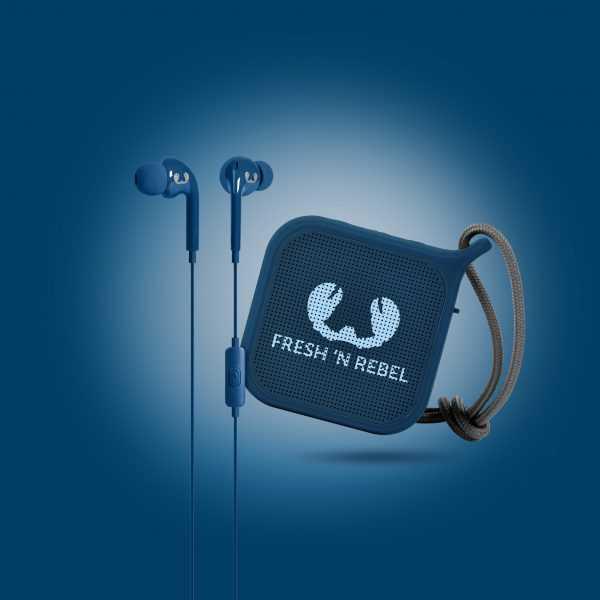Powerbank Bluetooth Speaker Giftset Fresh Rebel