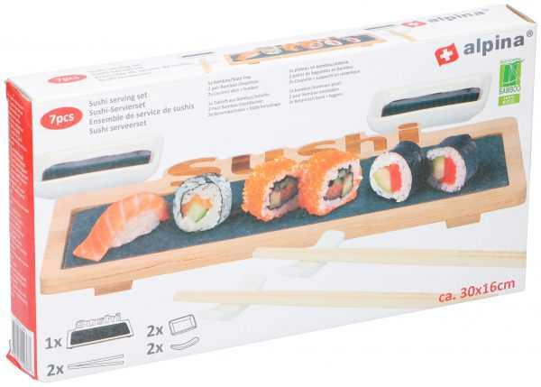 Alpina Decorative Sushi Serving Set 7pcs.