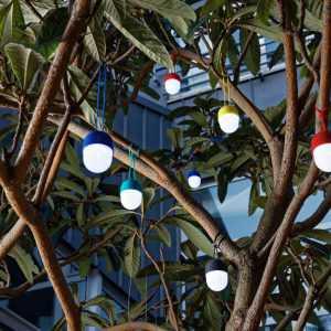 Hanging LED Light Rechargeable CLOVER Lexon Design