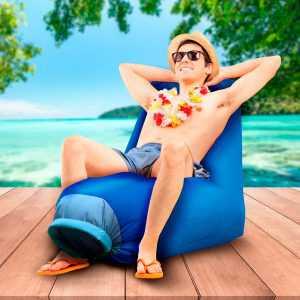 Inflatable Summer Beach Armchair Cloud Balvi