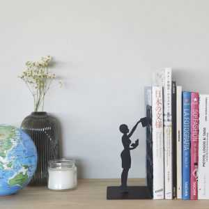 Bookend The Library Metal Balvi