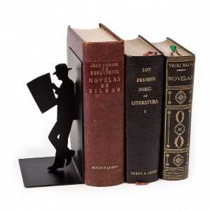 Bookend The Reader Metal Balvi