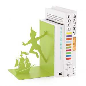 Bookend Flying Boy Kuifje TinTin Balvi Green