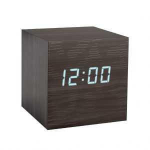 Alarm Clcok Kubo Temperature Balvi Black