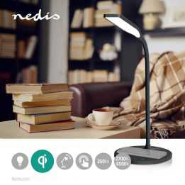 LED Desk Lamp Wireless Charger QI Nedis
