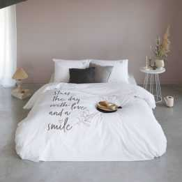 Duvet Cover Bed Linnen Size 240 Smile Love Walra
