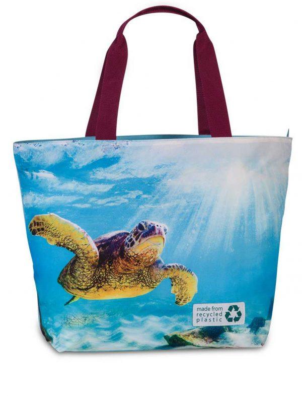 Beach Bag Durable 30 liters Fabrizio turtle Blue