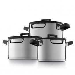 Cooking Pan Set Downdraft GEM BergHOFF